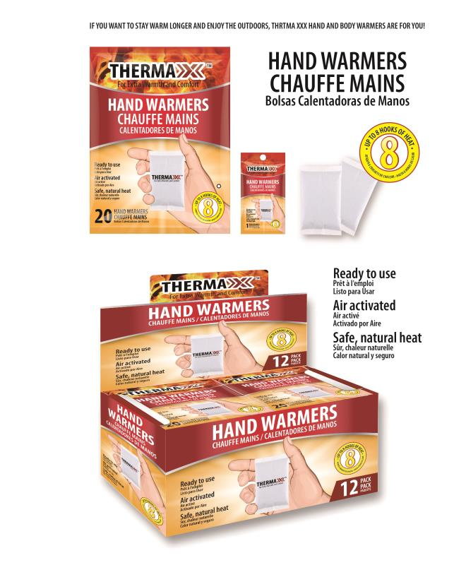 Thermaxxx Warmers 1PR Hand