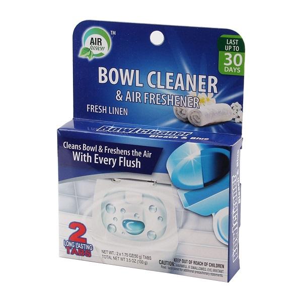Air Fusion Bowl Cleaner & Freshener 2PK Linen