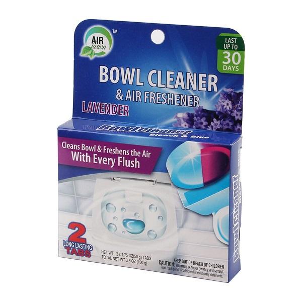 Air Fusion Bowl Cleaner & Freshener 2PK Lavender