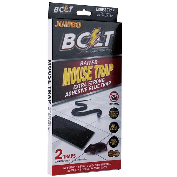 Bolt Pest Mouse Trap 2PK Jumbo Box